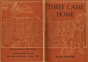 Three Came Home title page lo