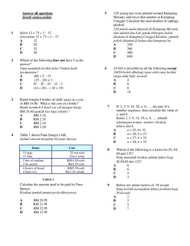Jawapan Buku Teks Matematik Tingkatan 4 Kssm | Nanikalux