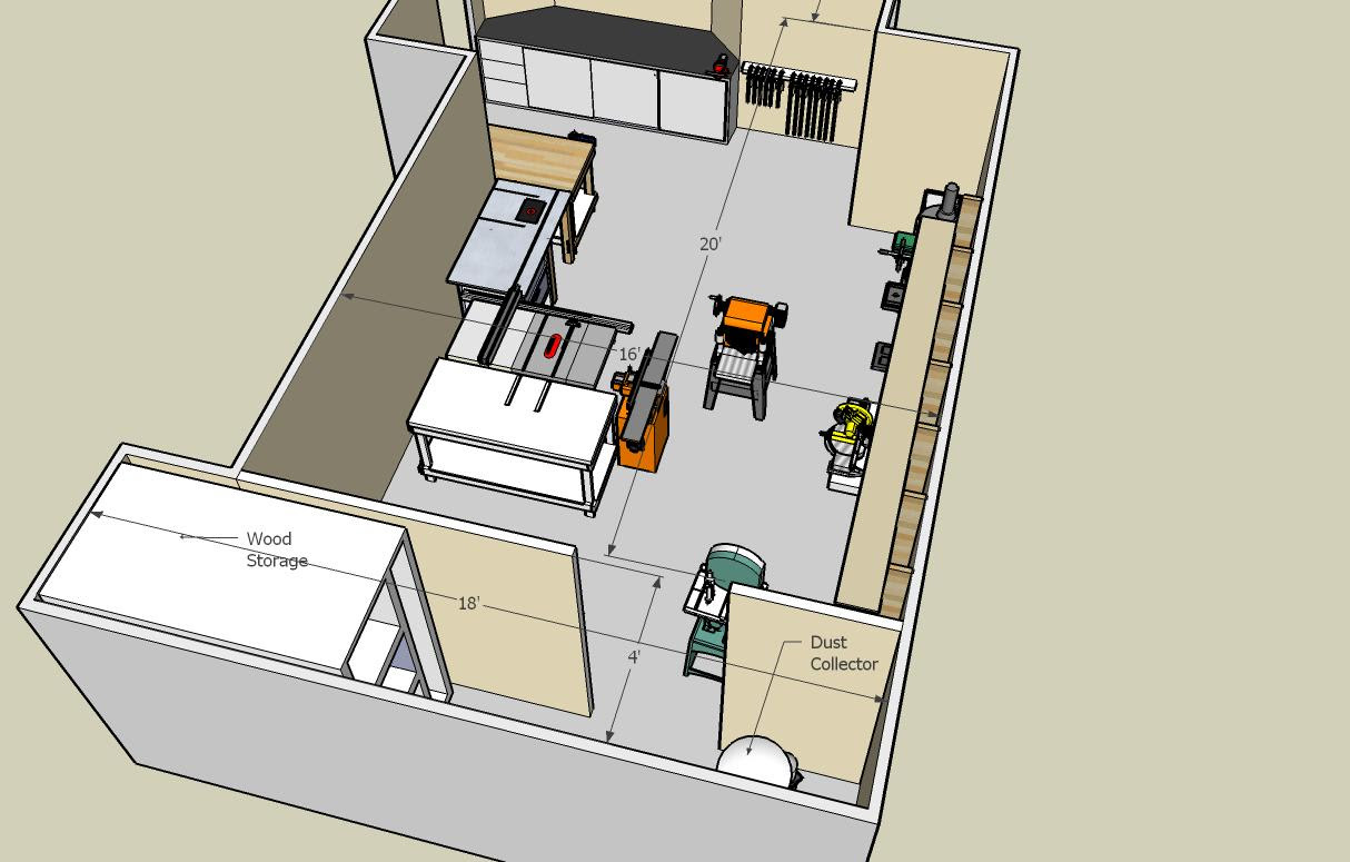 Tips Woodworking Plans: Woodworking Plans Shop Layout