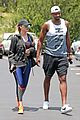 khloe kardashian tristan thompson hit the gym together in calabasas 04