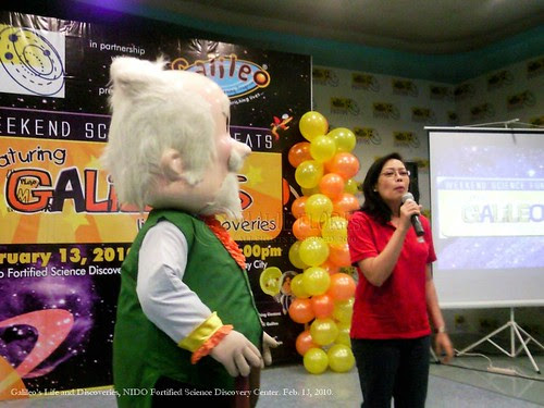 Ms. Irene Lucas and Prof. Galileo