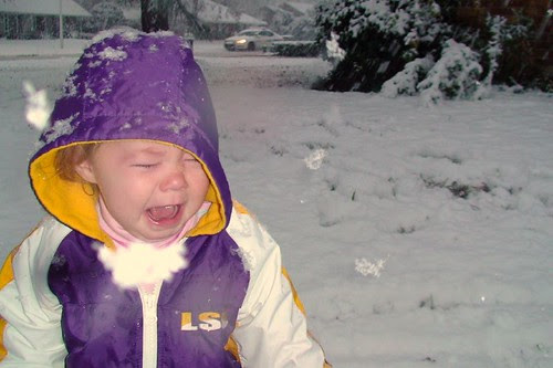 Rebekah Hates The Snow