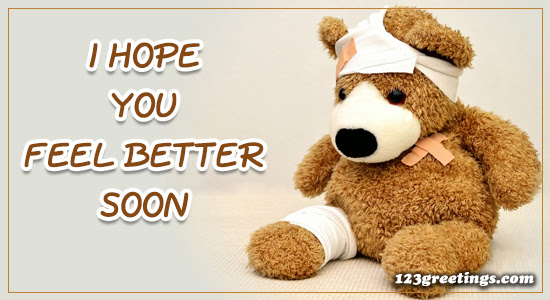 I Hope You Feel Better Free Get Well Soon Images Ecards Greeting
