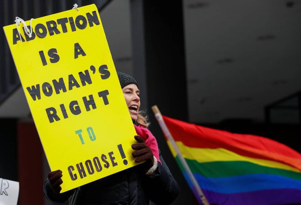 Manifestación anti Trump en Chicago, Illinois, el pasado 15 de enero.