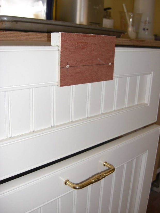 Using a jig makes installing cabinet hardware easy ...