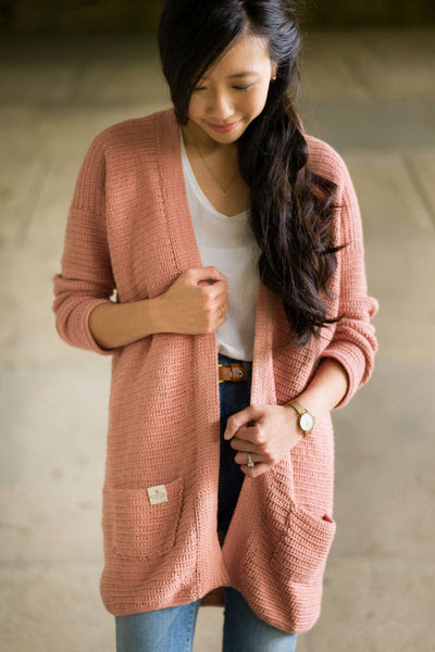Crochet Kit - Rosewood Cardigan