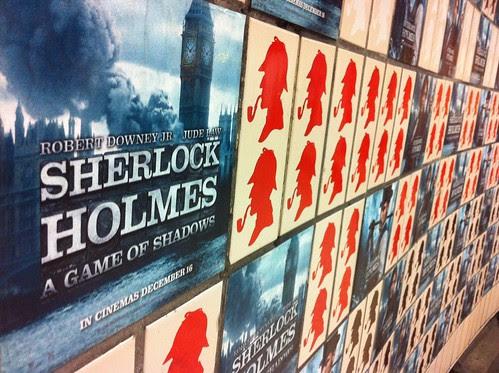 128/365, Baker St Station, Sherlock Holmes