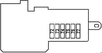 Mercedes Benz E Class W211 2002 2003 Fuse Box Diagram Auto Genius