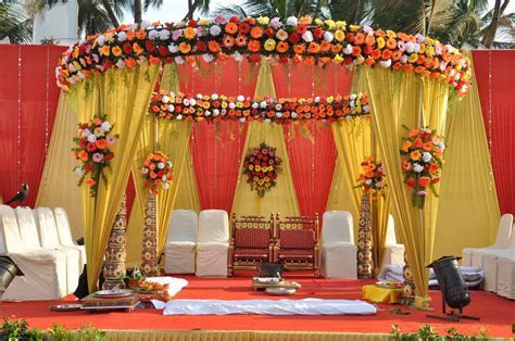 indian wedding flowers decorations   Google Search