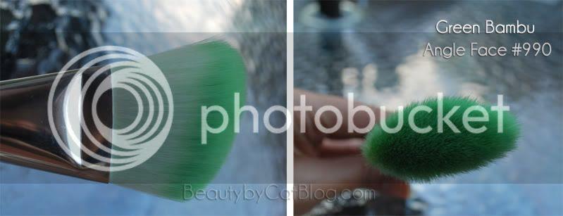 Green Bambu Angle Face #990
