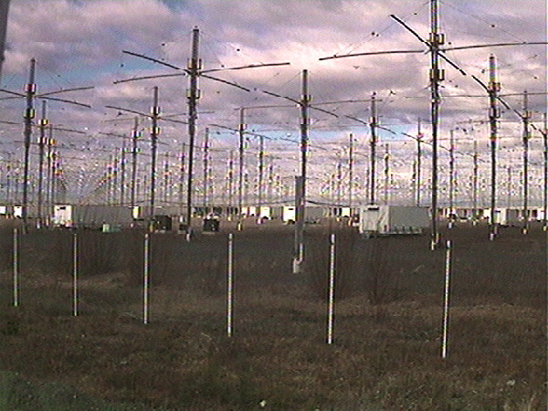 The camera used for the traditional HAARP Cam is temporarily not operational. The picture shown here is is from May 17, 2007.
