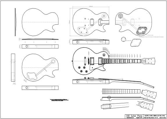 Cara Membuat Gitar Elektrik Gibson 50s Les Paul
