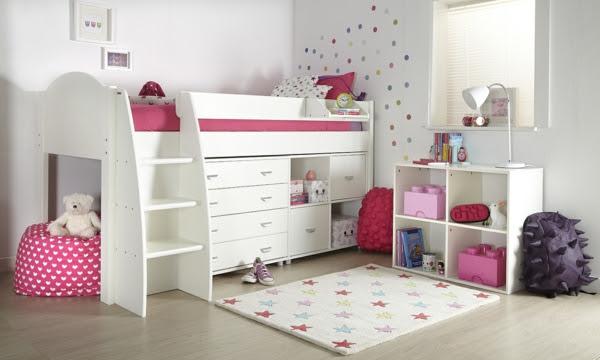 Kleiderschrank Weiß Kinderzimmer | Jugendzimmer Set Jungen