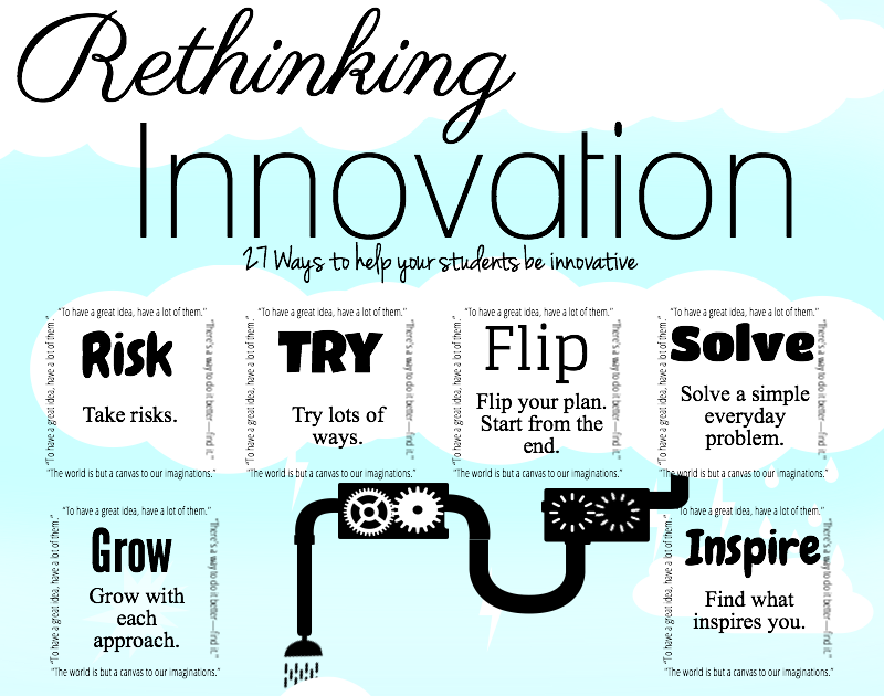 Innovative Classroom Approach ~ Ways to help students be innovative educational
