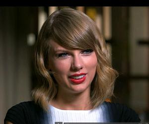 Taylor Swift talks to Gale King!