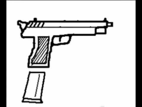Imagenes de armas para dibujar - Imagui