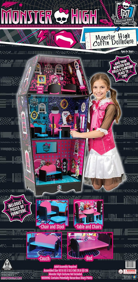 Monster High Coffin Doll House