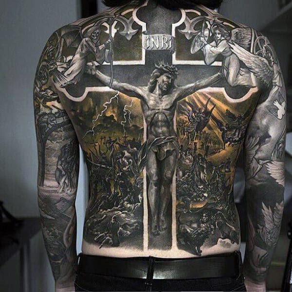 ️ ️ Jesus Tattoo Ideas That Don't Suck—100 Meaningful ...