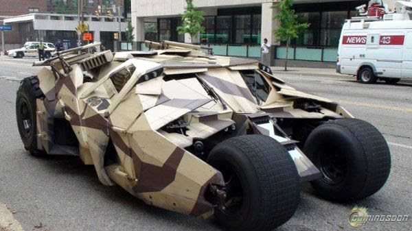 The Tumbler from THE DARK KNIGHT RISES.