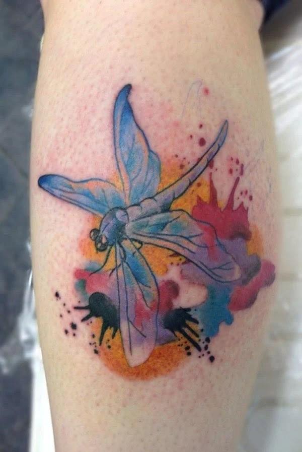 75 desenhos de tatuagem de libélula bonito e sexy 21 por Bryan