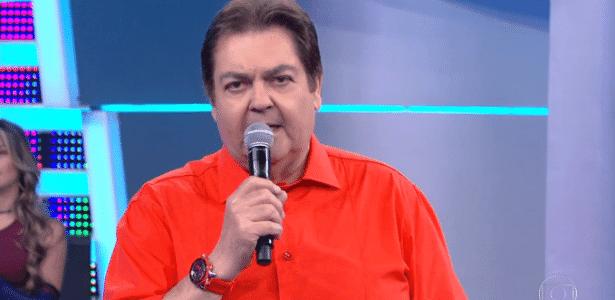 Faustão soltou palavrão no ar ao se referir ao governo do presidente Michel Temer (PMDB)