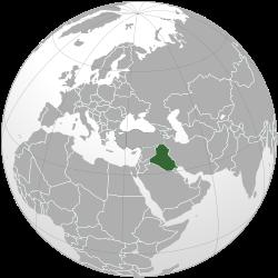Vị trí của Iraq