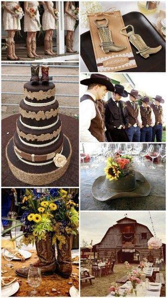 Western Cowboy Country Theme Wedding Ideas from HotRef.com