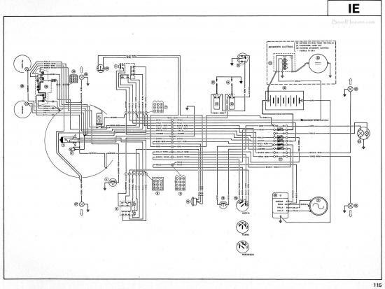 71 Schema Electrique Honda 125 Nx