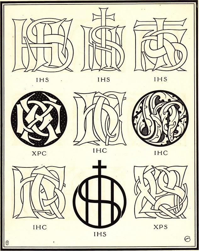 Monograms & Ciphers by AA Turbayne 1912 p