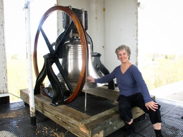 Edgartown town clock bell, Greg Blaine