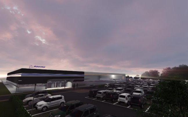 Boeing plant sheffield