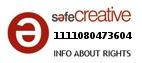 Safe Creative #1111080473604