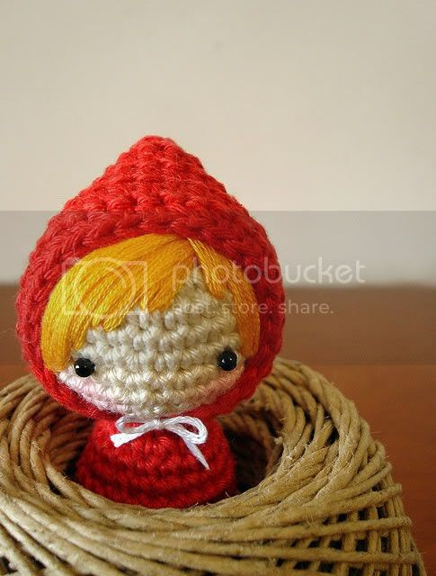 red riding hood stuffed animal