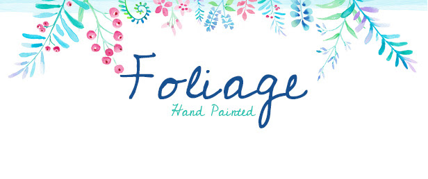 Foliage Blog Title Graphic