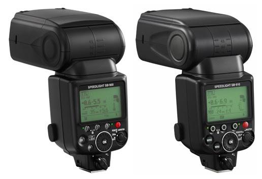 Nikon SB 900 vs SB 910 comparison side Nikon SB 900 vs. SB 910 Speedlight comparison