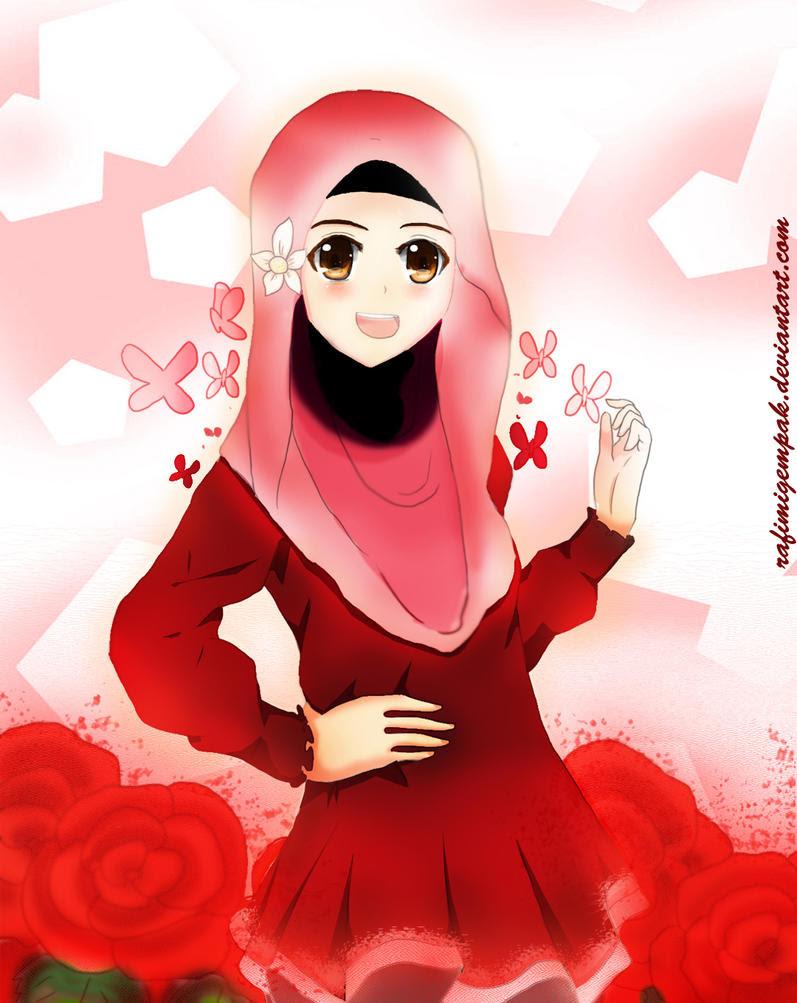 8800 Wallpaper Kartun Muslimah Bergerak Untuk Hp Terbaik