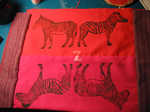 Z is for zebra, of course