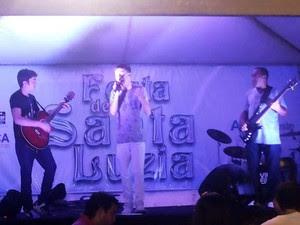 Shows acontecem na Avenida Dix- Sept Rosado (Foto: Eurides Pinto)