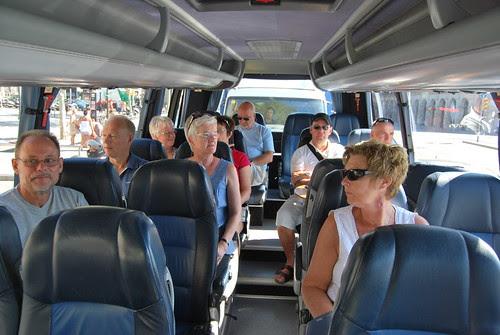 På bussen