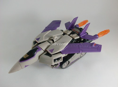 Transformers Blitzwing Animated Voyager - modo jet
