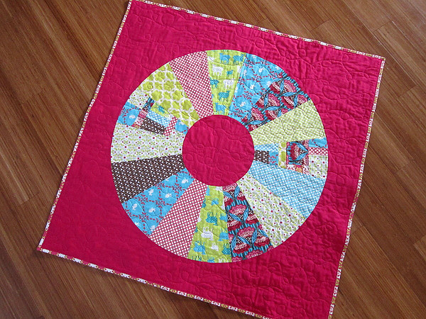 Whimsy Wheel Baby Quilt