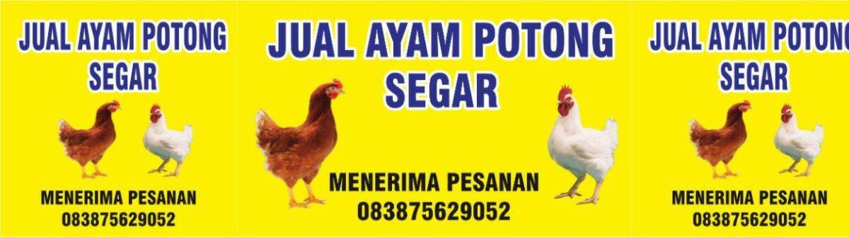 Contoh Spanduk Jual Ayam Potong - kumpulan gambar spanduk