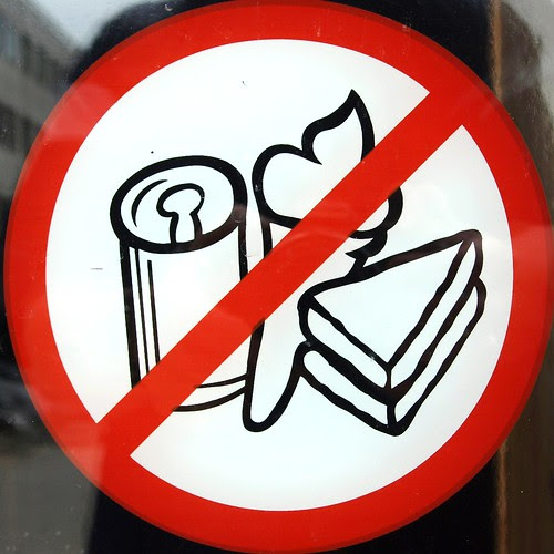 No drinks, ice cream, cake...