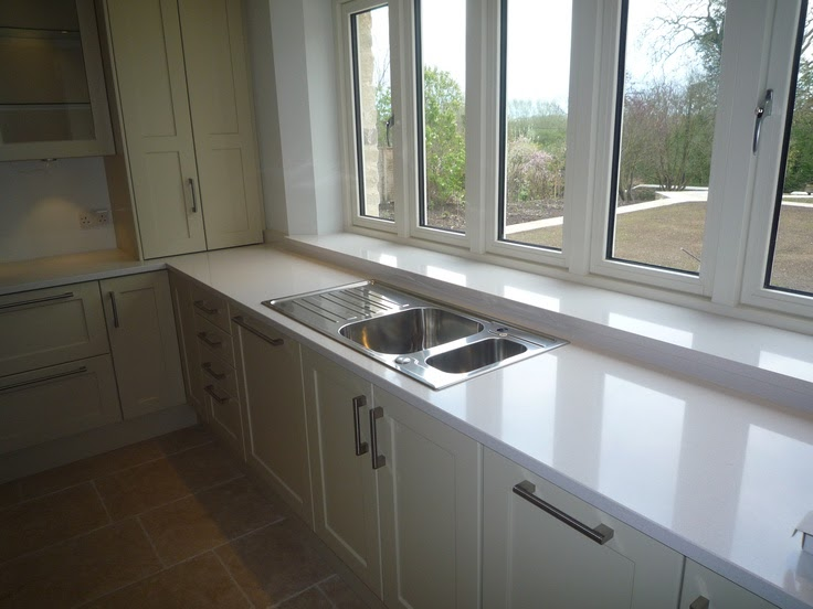 Blanco overmount sink white gold for Silestone sink reviews