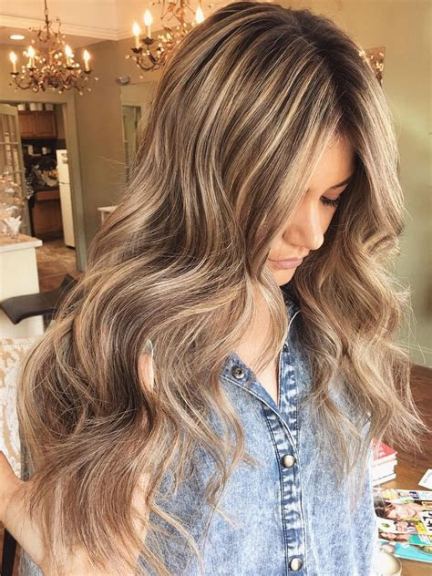 light brown hair color ideas  highlights  lowlights
