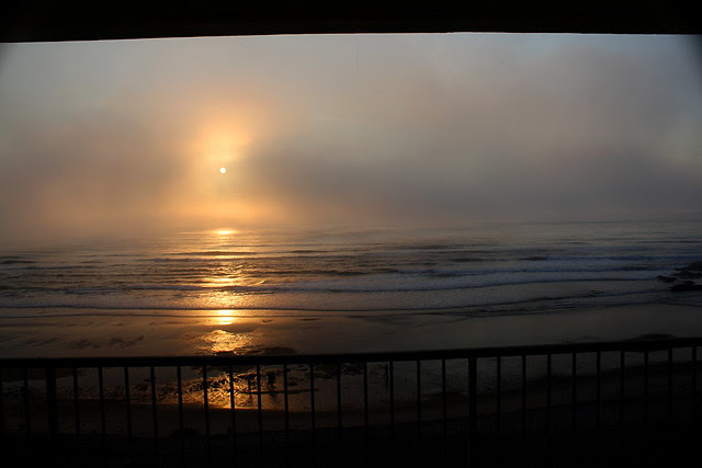sunset, lincoln city