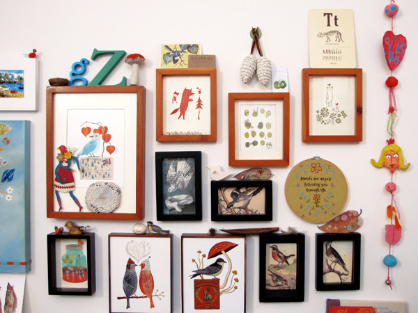 Wall of curiosities
