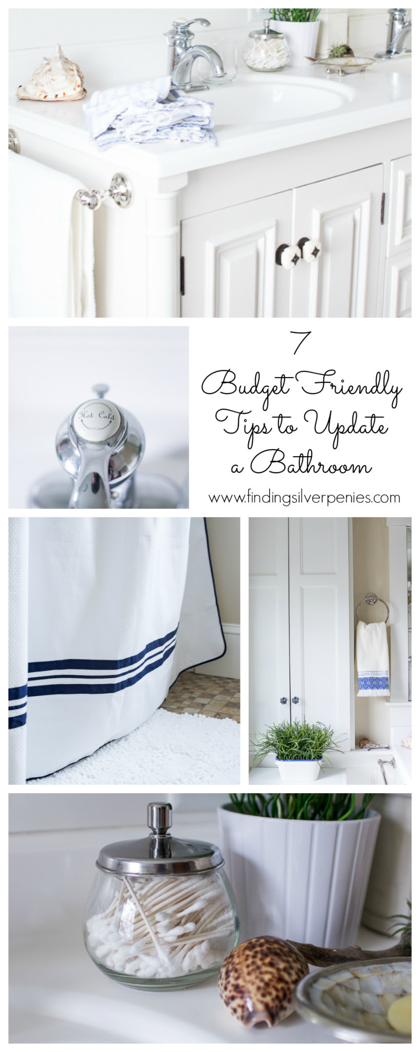 7 Budget Friendly Ways to Update Your Bathroom - Finding ...