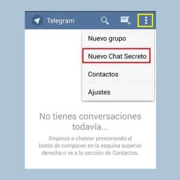 Mensajes que se autodestruyen en Telegram