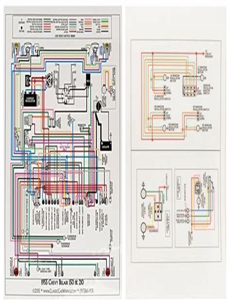 Pdf  Chevrolet Chevy 1955 Car Wiring Electrical Diagram